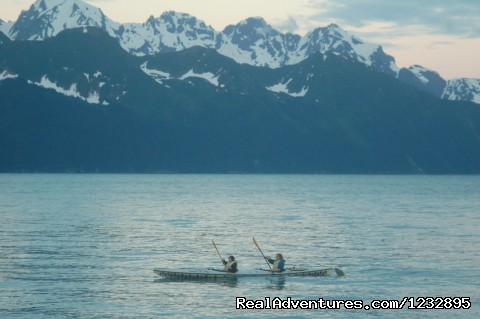 Kayaking in Resurrection Bay - Beach House Rentals