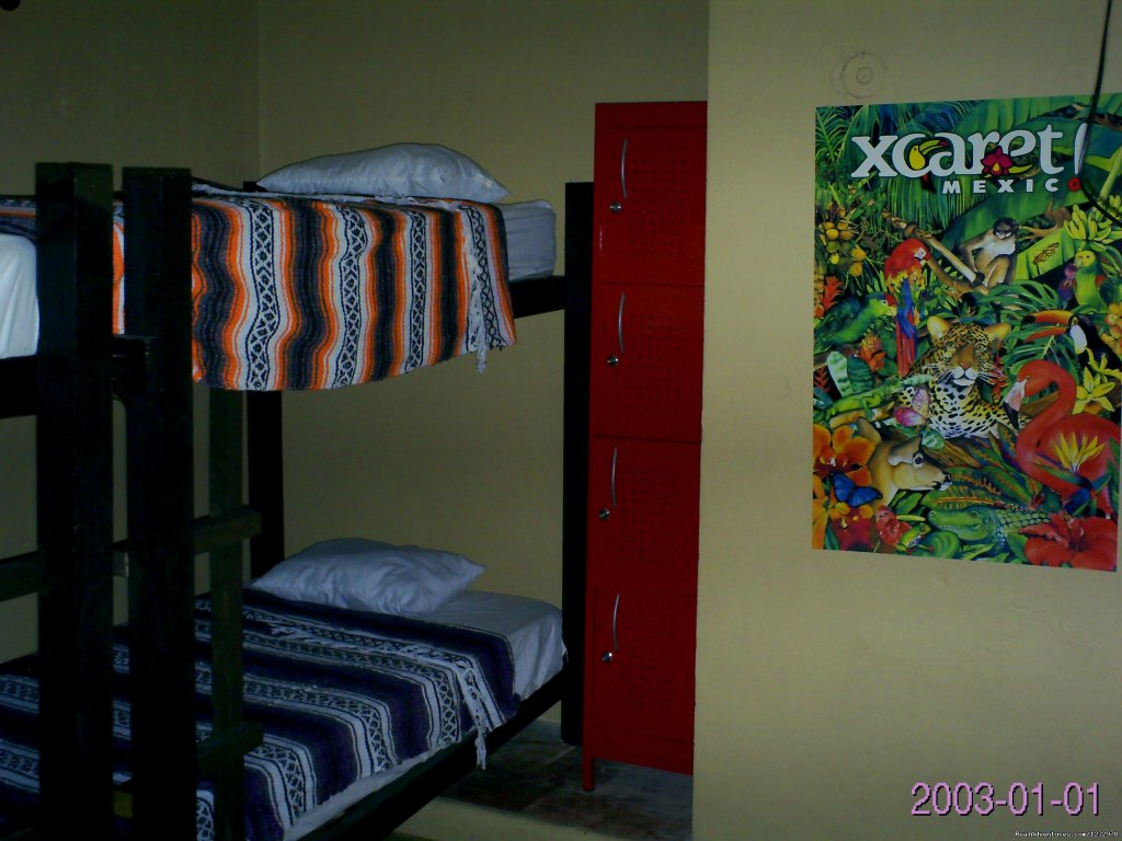 Typical Dorm Room | Image #13/23 | Backpackers Hostelling Center & Champ's Sports Bar