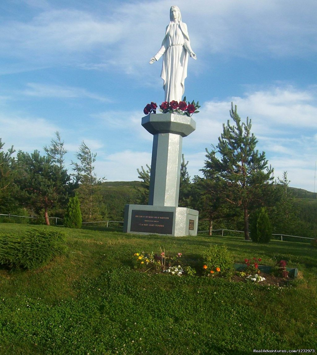 Statue of the Virgin Mary at Marystown | Image #8/26 | Learn local ways with Eastern Edventures