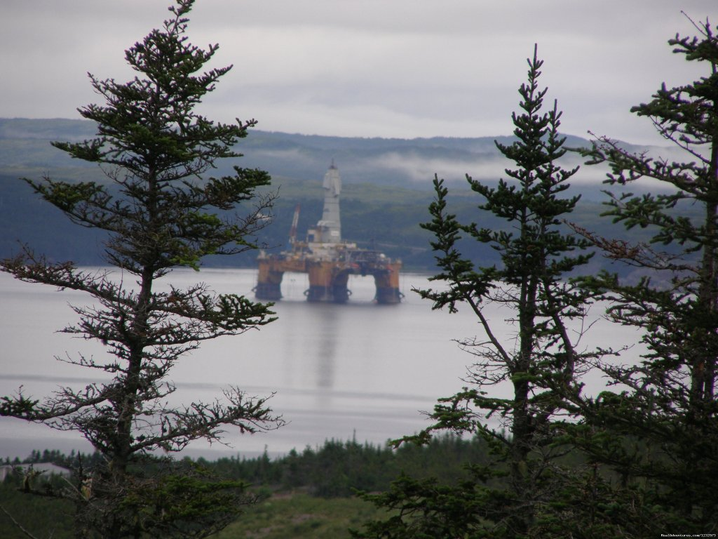 Oil Rig in Mortier Bay | Image #12/26 | Learn local ways with Eastern Edventures