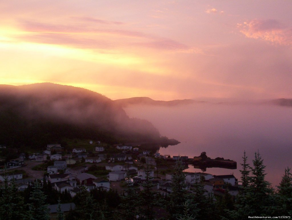 Sunrise in Parker's Cove, NL | Image #16/26 | Learn local ways with Eastern Edventures