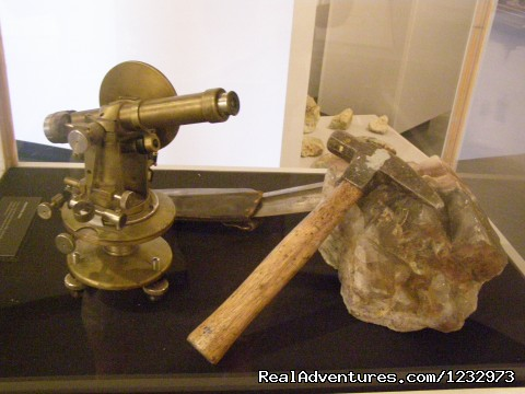 Miner's tools on display at St. Lawrence (#10 of 26) - Learn local ways with Eastern Edventures