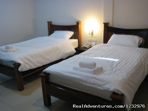 Deluxe Room (Twin Beds) - The Park Nangrong Resort
