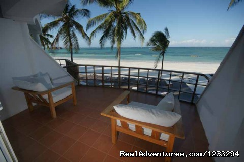 Private Balcony in Each room - Dongwe Ocean View ZANZIBAR TANZANIA