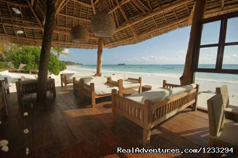 Club House facing the sea - Dongwe Ocean View ZANZIBAR TANZANIA
