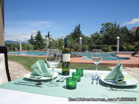 Garden Restaurant - Aleksandar Villa Boutique Hotel