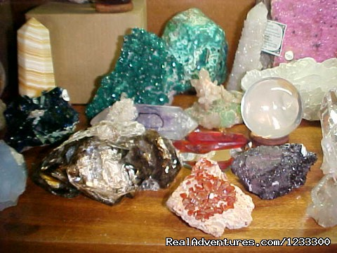 Toprock Crystal, Mineral and Fossil Museum Shop