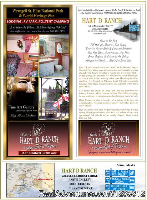 Hart D Rack Card (#3 of 26) - Hart D Ranch:Rooms /RV Park /PO