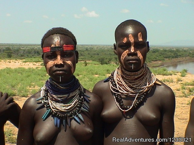 Women from Karo Tribes - Tour to Ethiopia-Hidden Treasures Tour