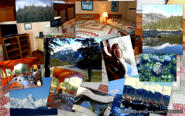 Collage of Chilkoot River Lodge - Chilkoot River Corridor Retreat/Inn on the River