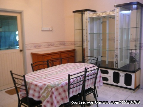Dining Hall - North Homestay Ipoh