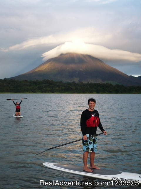 Stand  Up Paddle - Desafio Adventure Company Costa Rica