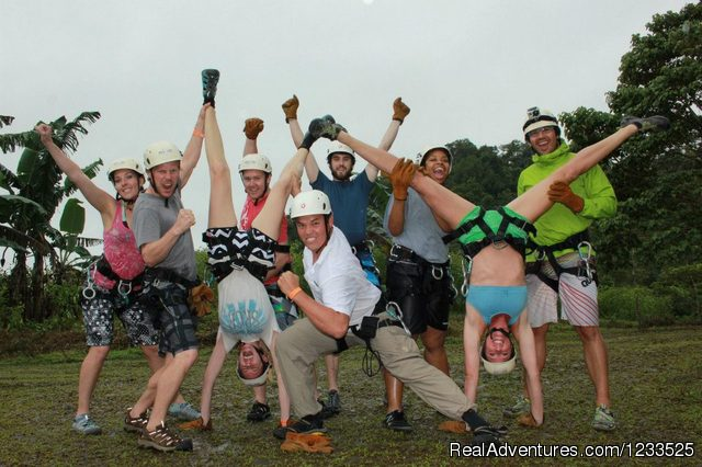 MAMBO COMBO: Rappel + Raft all in one day (#6 of 26) - Desafio Adventure Company Costa Rica