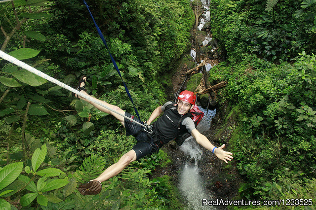Combo Rappel + Zip line. All in one  day (#7 of 26) - Desafio Adventure Company Costa Rica