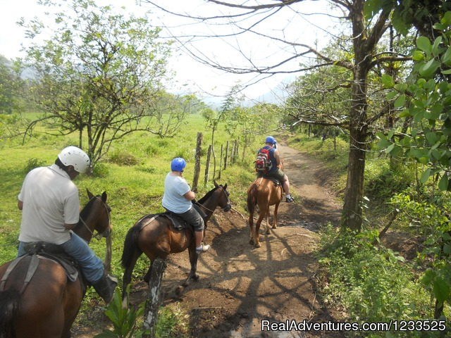 Combo Rappel +  Horse ride to the La Fortuna Waterfall (#8 of 26) - Desafio Adventure Company Costa Rica