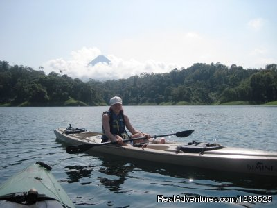 Kayak on Lake Arenal (#25 of 26) - Desafio Adventure Company Costa Rica