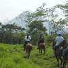 Horseback to the La Fortuna  Waterfall in La Fortuna