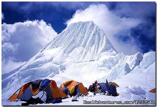 Alpamayo Climbing 2014 - Peruvian Mountains - Alpamayo Climb at 5,947 Cordillera Blanca Peru
