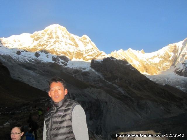 Annapurna I (8091m) (#3 of 3) - Annapurna Base Camp Trekking