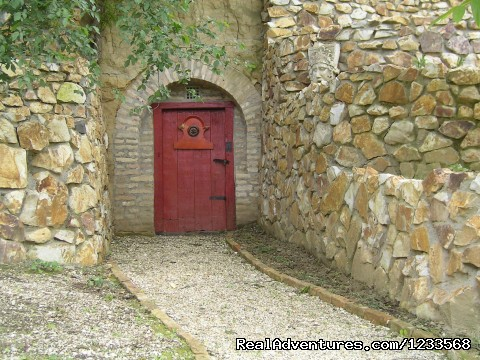 Traditional wine cellar in the mountain - Farmotel Stefania