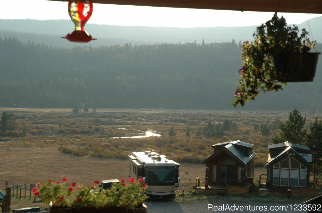 View of the Upper Wind River & Lava Mountain | Image #9/13 | Your Yellowstone Park @ Lava Mountain Lodge