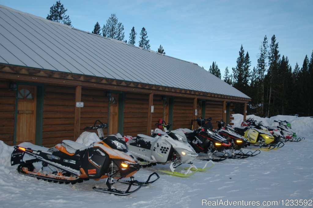 Snowmobiling, Ice Fishing & Skiing are popular | Image #11/13 | Your Yellowstone Park @ Lava Mountain Lodge