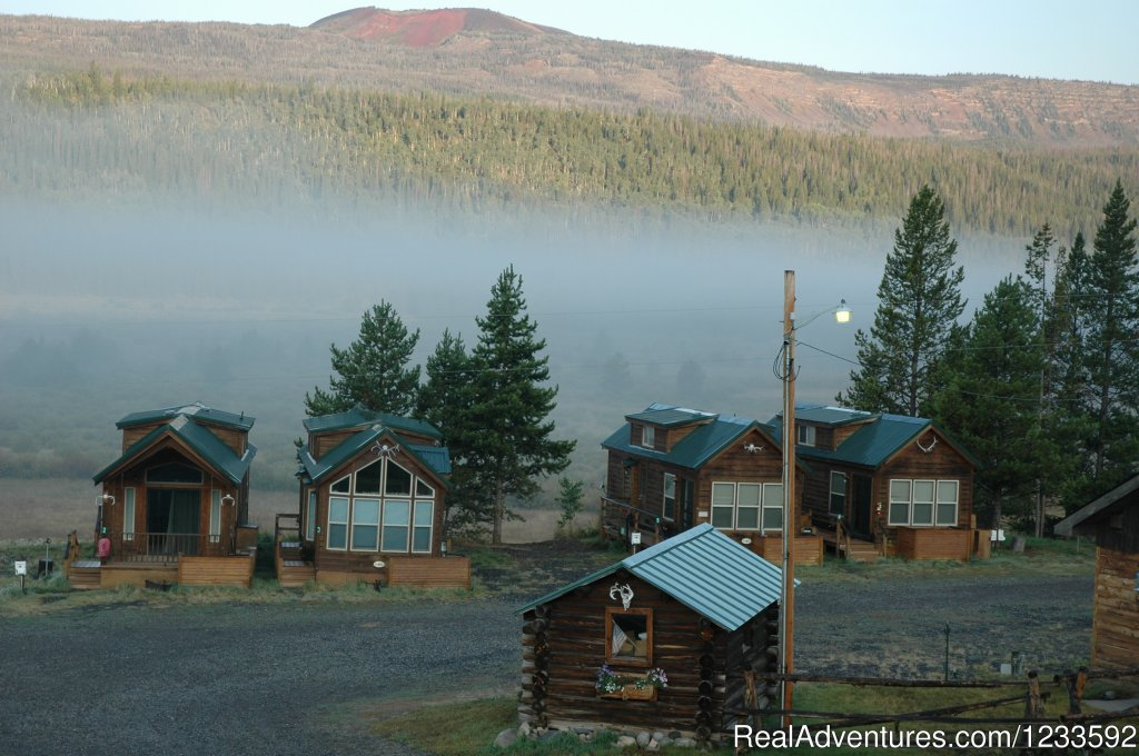 A Lazy Morning Fog | Image #13/13 | Your Yellowstone Park @ Lava Mountain Lodge