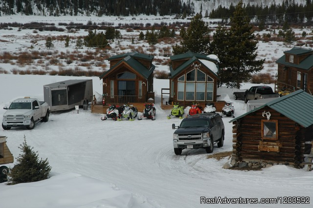 Winter Fun on Togwotee Pass - Your Yellowstone Park @ Lava Mountain Lodge