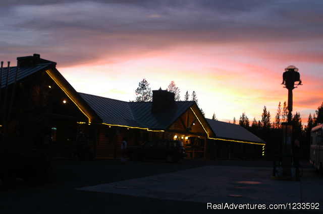 Sunsets are most spectacular on the Mountain - Your Yellowstone Park @ Lava Mountain Lodge