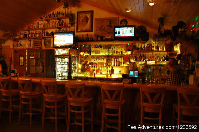 A Full Service Bar & Package Store - Your Yellowstone Park @ Lava Mountain Lodge