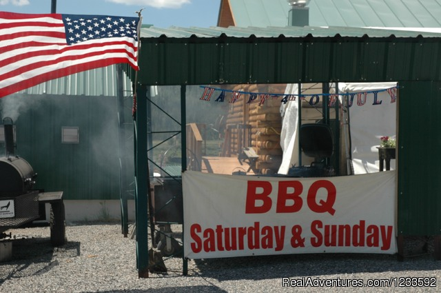 World Famous Wilderness Boundary Weekend BBQ's - Your Yellowstone Park @ Lava Mountain Lodge