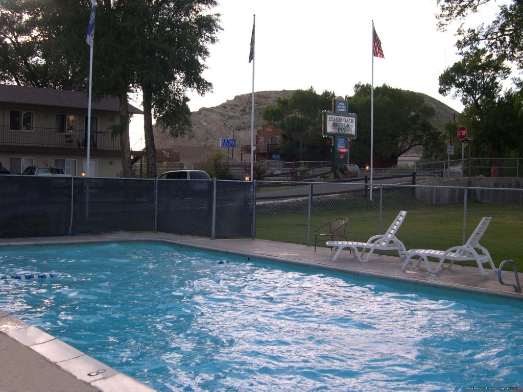 Stagecoach Motel Swimming Pool | Image #2/23 | Stagecoach Motor Inn