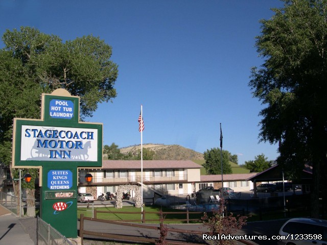 Stagecoach Motor Inn Motel Overview