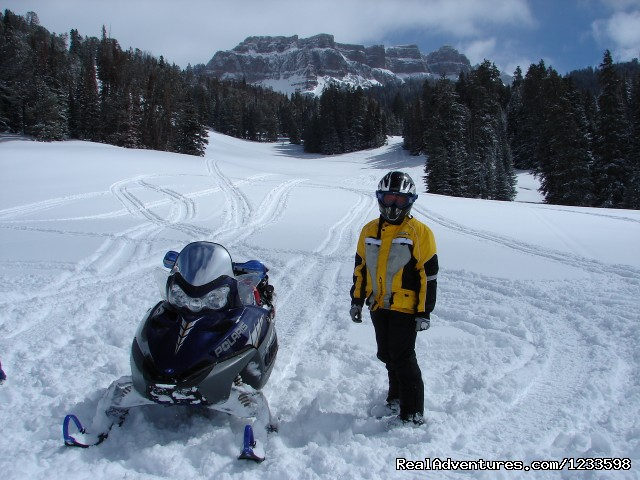 Snowmobiling Angle Flats - Stagecoach Motor Inn