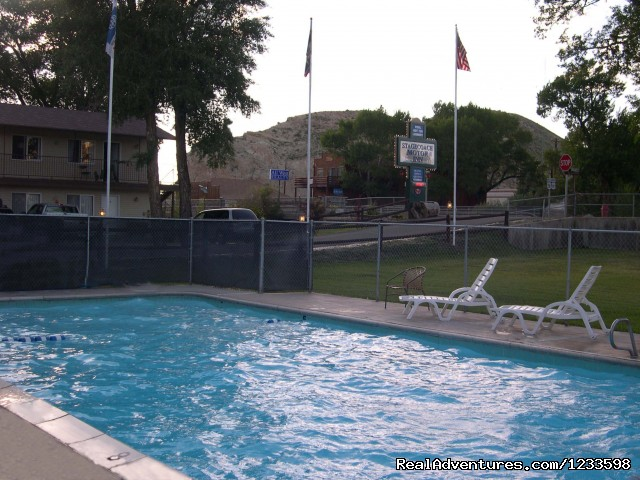 Stagecoach Motel Swimming Pool - Stagecoach Motor Inn