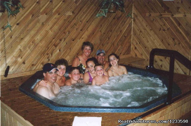 Hot Tub - Stagecoach Motor Inn