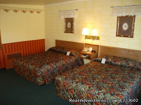 Room 125,  - The Holiday Lodge - A Happy Little Motel