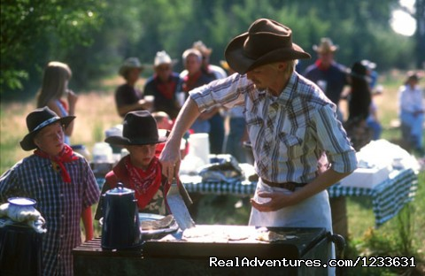 CM Ranch Weekly Chuchwagon Breakfast Cookout - CM Ranch- Beautiful and Historic Dude Ranch