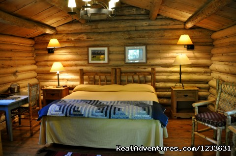 CM Ranch cabin interior - CM Ranch- Beautiful and Historic Dude Ranch