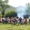 CM Ranch campfire