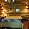 CM Ranch cabin interior