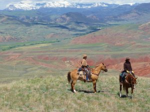 Ride Wyoming's Dramatic Wilderness at the Lazy L&B Dubois, Wyoming Dude Ranch