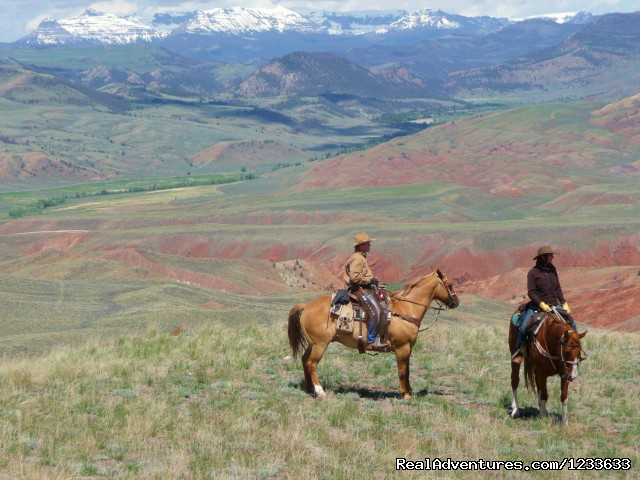 Ride Wyoming's Dramatic Wilderness at the Lazy L&B Dude Ranch Dubois, Wyoming