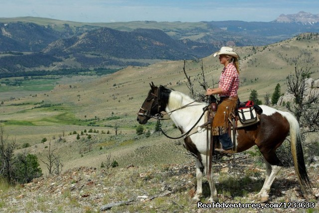 - Ride Wyoming's Dramatic Wilderness at the Lazy L&B