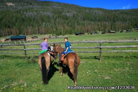Children are provided with special activities - Find your Frontier at the T Cross Ranch
