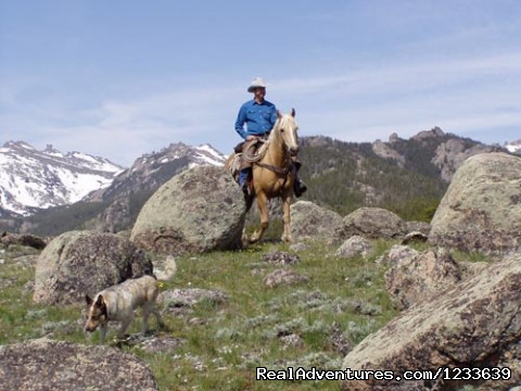 Scenic riding - Allen's Diamond Four Wilderness Ranch