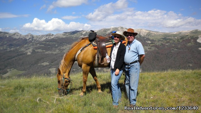 Pack Trip Adventures in Wyoming Dubois, Wyoming Horseback Riding