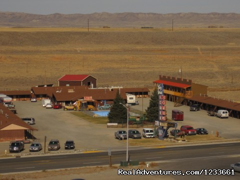 Pic from acrossed the street  - Big Bear Motel