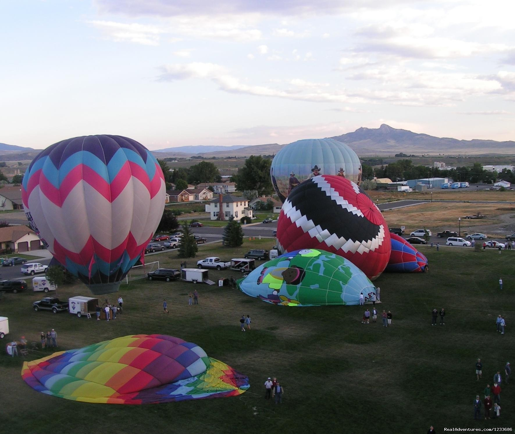 Balloon Fest in August