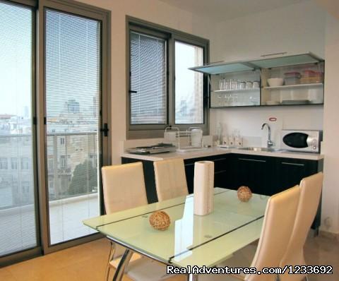 apartment - kitchen (#19 of 26) - Atarim Suites